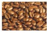 APe Santos kávébab koffeinmentes 1000 g