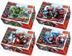 Kapla Mini puzzle 54 db Marvel hősök Trefl (TREFL19497)