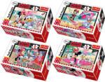 Kapla Mini puzzle 54 db Minnie és Daisy vakációja Trefl (TREFL19474)