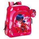 Safta Ghiozdan pentru scoala Buburuza Miraculos Ladybug