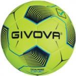 Givova Bounce One futsal meccslabda, fluosárga-fekete-türkízkék