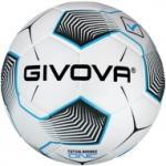 Givova Bounce One futsal meccslabda, fehér-fekete-türkízkék