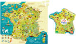 Vilac, Франция Пъзел карта на Франция Vilac (2726)