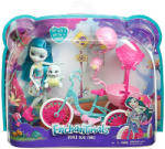 Mattel Enchantimals - Kétszemélyes tricikli - Taylee Turtle játékszett (FCC65)