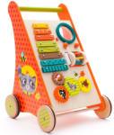 Eurekakids Antemergător din lemn cu multiple activităţi educative