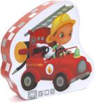 Eurekakids Puzzle progresiv 4 în 1, Pompieri Puzzle