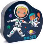 Eurekakids Puzzle progresiv, 4 în 1, Micul Astronaut Puzzle
