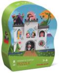 Crocodile Creek Puzzle Castelul Cavalerului în Cutie cu Formă Originală