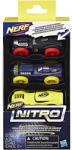 Hasbro Nerf Nitro szivacsautó szett (fekete-kék-sárga) 3db-os - Hasbro
