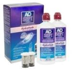 Alcon AOSEPT PLUS with Hydraglyde 2 x 360 ml cu suporturi Lichid lentile contact