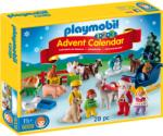 Playmobil Adventi Kalendárium Karácsony Egy Parasztudvarban (9009)