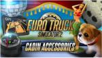 Excalibur Euro Truck Simulator 2 Cabin Accessories DLC (PC) Játékprogram