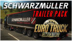 Excalibur Euro Truck Simulator 2 Schwarzmüller Trailer Pack DLC (PC) Játékprogram