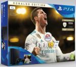 Sony PlayStation 4 Slim Jet Black 1TB (PS4 Slim 1TB) + FIFA 18 Deluxe Játékkonzol