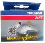 Tungsram H7 izzó GE/Tungsram 12V 55W Megalight Plus 50 58520MPU PX26D