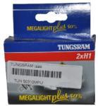 Tungsram H1 izzó Tungsram Megalight Plus 50 12V 55W 50310MPU P14, 5s