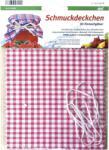 Gastro Dekoratív párnák befőzéshez 6db készlet + gumiszalag, anyag 100 % pamut, különböző design Gastro