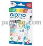 Fila - GIOTTO Италия Флумастери Giotto Turbo Bicolor 8 цвята