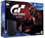 Sony PlayStation 4 Slim Jet Black 1TB (PS4 Slim 1TB) + Gran Turismo Sport Конзоли за игри