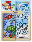 Melissa & Doug Óceán ólomüveg képkészítő készlet (8582)