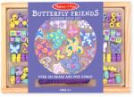 Melissa & Doug Fa gyöngy szett - Pillangók (4179)