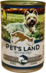 Pet's Land Dog - Pig & Fish With Pear 415g