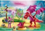 Playmobil Fairies Sárkánymama Bébivel (9134)
