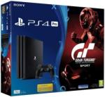 Sony PlayStation 4 Pro Jet Black 1TB (PS4 Pro 1TB) + Gran Turismo Sport Console