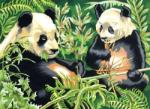 Reeves Festés számok után - Panda (PL88)