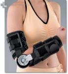 GM -W15 gumiszövetes, fémmerevítésérű könyökortézis állítható mozgásterjedelemmel