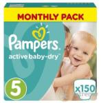 Pampers Active Baby-Dry 5 Junior (11-18kg) 150db