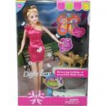 Defa Lucy baba fésülhető és öltöztethető kiegészítőkkel - Defa Lucy babák és kiegészítők
