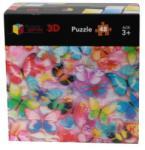 Riviera Games Pillangók (The Butterflies) 3D puzzle 48 db-os P3D03