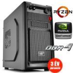 Foramax AMD Ryzen Game PC Számítógép konfiguráció