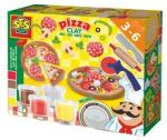 SES Creative Ses Modelaj - Set Pizza (HOE04031) Bucatarie copii