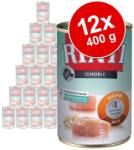 RINTI Sensible - Chicken & Rice 12x400g