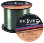 The One Fir monofilament THE ONE Infinite Distance Dark Green 1200m 0, 30mm (EF. 31720030)