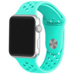 iUni Curea pentru Apple Watch 38 mm Silicon Sport iUni Light Blue