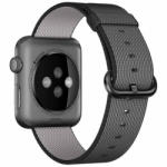 iUni Curea pentru Apple Watch 38 mm iUni Woven Strap, Nylon, Electric Gray
