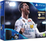Sony PlayStation 4 Slim Jet Black 500GB (PS4 Slim 500GB) + FIFA 18 Конзоли за игри