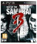 Agetec Way of the Samurai 3 (PS3) Játékprogram