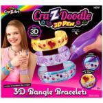 Cra-Z-Doodle 3D karperec készítő - Cra-Z-Knitz kreatív játékok