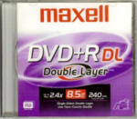 Maxell Dual Layer DVD+R 8.5GB 8x