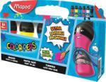 """Maped Vízfesték, palackos, 6x75 ml, """"ultra-washable"""", MAPED, alap színek (IMA810010) - webpapir"""