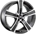 OZ Sahara 5 Matt Graphite Diamond Cut CB70.2 5/115 18x8 ET42