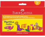 Faber-Castell Neon Jumbo gyurmaszett 12db-os