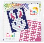 Pixelhobby Pixel Mosaic kulcstartókészítő szett - Nyuszi (23010)