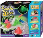 Sands Alive! Világító homokgyurma vulkán készlet (2721)
