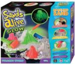 Sands Alive! Világító vulkán készlet - homokgyurma (2721)