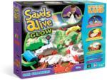 Sands Alive! Világító homokgyurma járgányok készlet (2723)